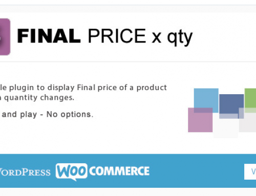 [Plugin Review] WooCommerce Final Price